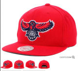 Big Red Deporte Snapback Cap con bordado 3D