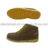 2016 ботинок новых людей напольных вскользь кожаный