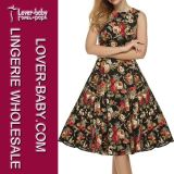 도매 소매 없는 여자 복장 및 옷 (L36107-1)