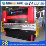 Machine de plaque métallique hydraulique de frein de presse de commande numérique par ordinateur de We67k