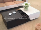 Vector de madera del cajón de la mesa de centro del estilo moderno (T-92)