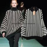Form-Pullover Striped lose Frauen-Strickjacke-Dame-Abnützung