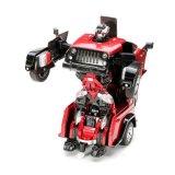 043665-2.4G RC Remote Control Deformation Robot