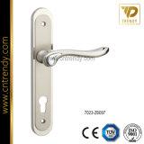 Ручка замка рукоятки двери с плитой для нутряной комнаты (7009-Z6119)