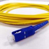 SM ou millimètre de fibre optique de connecteur de Sc-Sc de cordon de connexion de fibre optique