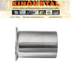 14wmp L12.7 gesundheitlicher Edelstahl, der kurz Schweißungs-Scheibe-Preis befestigt