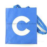 Sac stratifié tissé par pp réutilisable pour des achats comme cadeau de promotion