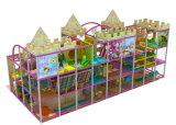 Patio de interior de la diversión de los niños del buen castillo del diseño