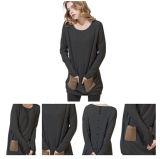 Maglione lavorato a maglia cachemire lungo delle donne