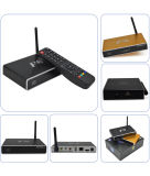 Kasten F8 Kodi Vierradantriebwagen-Kern Google spätester Android Fernsehapparat-arabischer IPTV professioneller intelligenter Fernsehapparat-Kasten IPTV