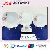Квадратный комплект Tableware Porcerlain формы, керамический комплект Dinnerware