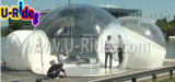 Tenda gonfiabile della bolla delle due entrate