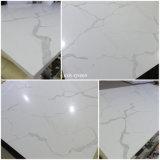 Il marmo bianco gradice la pietra artificiale Caesarstone del quarzo