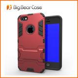 Couverture mince de téléphone d'armure pour l'iPhone 5
