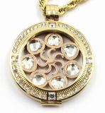 De alta qualidade Custom Made 316L Stainless Steel Locket Pendant for Gift Jewellery