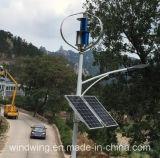 街灯の使用のための太陽電池パネルシステムが付いているMaglevの風発電機