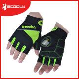Komprimierendes Handschuh-Fahrrad-Gel-Auflage-halber Finger-Fingerless Fahrrad Sports Handschuhe