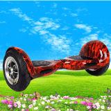 """fora do """"trotinette"""" do balanço do auto da roda da estrada dois com motor poderoso"""