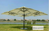 حديقة الباحة المظلة في الهواء الطلق مظلة الرياح مقاومة الترويجية مظلة الشاطئ