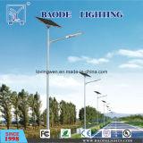 30/40/50W pour l'éclairage LED solaire de rue d'utilisation extérieure d'éclairage