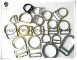 Anéis-D do metal dos acessórios do chicote de fios de segurança (H111D)