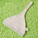 Chapéu orgânico encantador do bebê do algodão