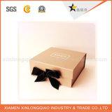 Коробка изготовленный на заказ ручной работы высокосортного подарка упаковывая