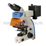 Microscópio de fluorescência binocular com câmera do CCD (LIF-305)
