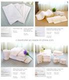 カスタム白いテリーの綿のホテルは表面タオルの製造を刺繍する