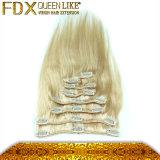Clip dans le prix de gros de bonne qualité de prolonge de cheveu