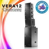 Rectángulo profesional del altavoz de la pulgada de Vera12 1X12, sistema de sonido