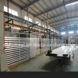 Linha de revestimento do pó para o perfil de alumínio
