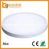 Ce/RoHS steuern Beleuchtung-Innenpanel-druckgießendes rundes Oberflächenmontierung 36W Aluminium&Phi automatisch an; 500mm LED Deckenleuchte