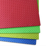 High Quality Kamiqi colorida 100% EVA Espuma Mats - Estilo da textura da folha