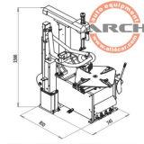 CER Gummireifen-Wechsler (AAE-C410BI)