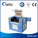 Grabado de cristal del laser del CO2 que talla la máquina Ck6040