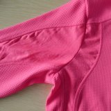 Rosafarbene Farben-Leerzeichen-Frauen-Pullover-Großverkauf-Eignung-Neonhemden
