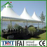 Garten-Hallegazebo-Rahmen-Pagode-Zelt des Aluminium-5X5m