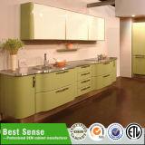 Mmodern diseña la cabina de cocina de aluminio barata modular de la cabina/del metal de cocina