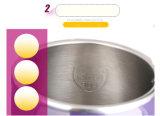 Cookware elétrico da chaleira da isolação térmica de camada dobro de 1.7L Ss304