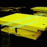 A instalação de borracha dos rolamentos do potenciômetro de PTFE