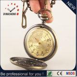 Relógio impermeável da caixa da liga do relógio Pocket da vida (DC-221)