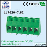 Ll7620-7.62 PCBのねじ込み端子のブロック