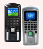 Biometrische RFID Zugriffssteuerung mit Karte