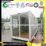 Camera del contenitore con la parete di vetro