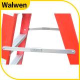 5つのステップ二重多彩な折りたたみの国内ガラス繊維のステップ梯子
