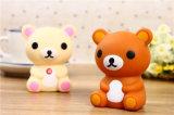 Fumetto della Banca mobile di carico di potere del tesoro di potere dell'orso dell'orsacchiotto del mini orso mobile dell'orsacchiotto