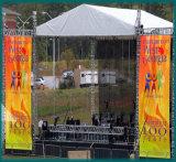 Personalizado impreso al aire libre de eventos Banderas de pantalla Valla