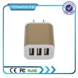 Kanäle USB-Aufladeeinheit des Wand-Ausgangsarbeitsweg Wechselstrom-Aufladeeinheits-Adapter-3 für iPhone 6 6plus Samsung