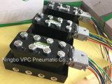 正確な空気V4ソレノイド弁の多様な中断弁ワイヤー馬具